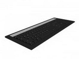 Laptop keyboard 3d preview