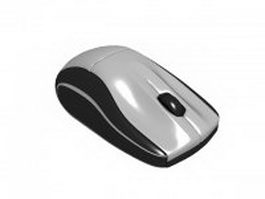 Wireless computer mouse 3d model preview
