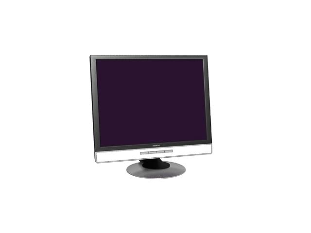 Fujitsu Siemens Monitor 3d rendering