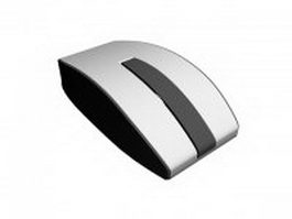 Wireless cad mouse 3d model preview