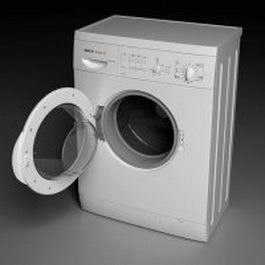 BOSCH washing machine 3d preview