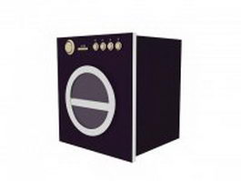 Horizontal-axis clothes washer 3d preview