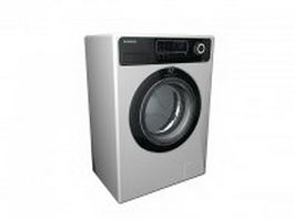 Samsung electric dryer 3d preview
