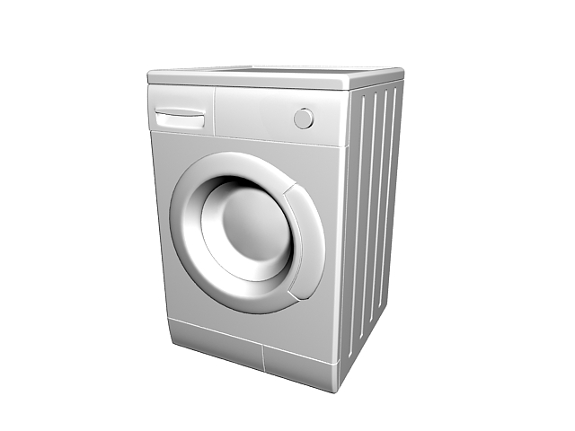 Modern clothes dryer 3d rendering