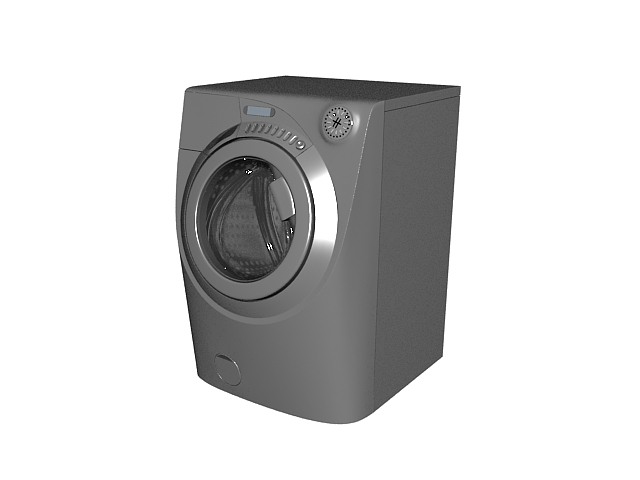 Family washer 3d rendering