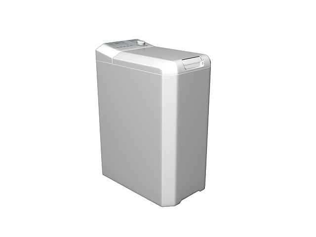 Portable dryer machine 3d rendering