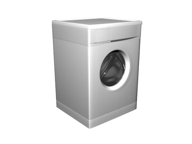 Tumble dryer 3d rendering