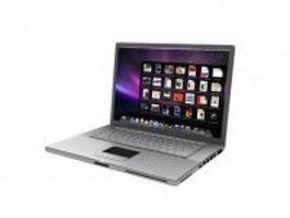 Chromebook laptop 3d preview