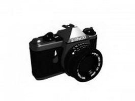Vintage Pentax camera 3d preview