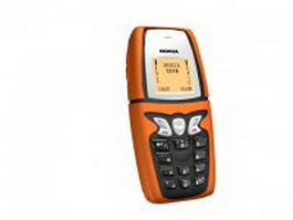 Early Nokia cell phone 3d model preview