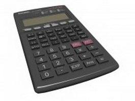 Casio calculator 3d preview