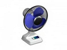 Electric desk fan 3d preview