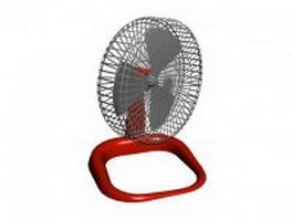 Mini desk fan 3d preview