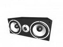 Subwoofer speaker 3d preview