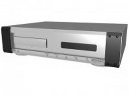 Musical Fidelity CD Player 3d preview