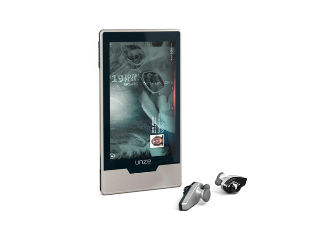 Zune mp3 player 3d rendering