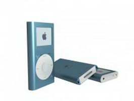 iPod Classic 3d model preview