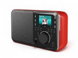 MP4 player with speaker 3d preview