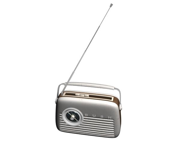 Bush digital radio 3d rendering