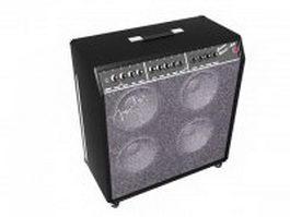 Fender concert reverb guitar amplifier 3d preview