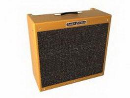 Fender Bassman guitar amplifier 3d preview