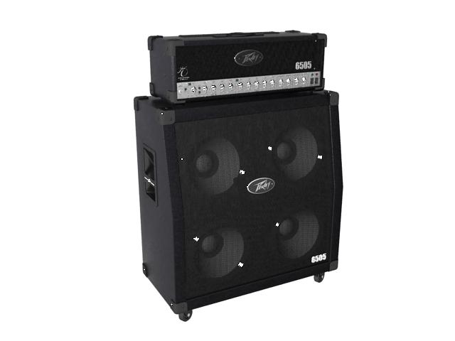 Peavey guitar amplifier speaker 3d rendering