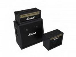 Marshall Vintage Reissue Amplifier 3d preview