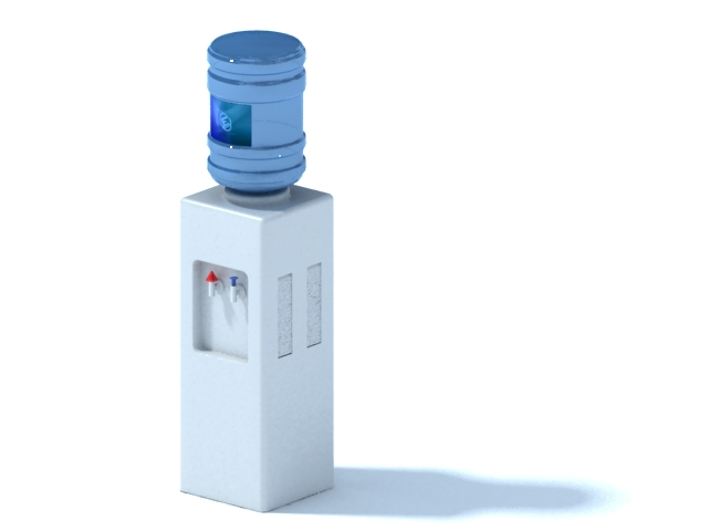 Drinking water dispenser 3d model 3ds max files free
