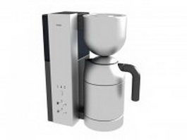 Bosch Solitaire coffee maker 3d model preview
