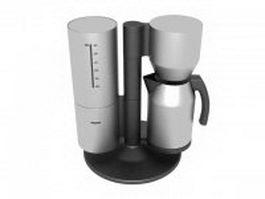 Siemens coffee maker 3d model preview
