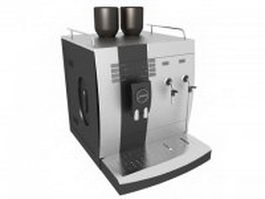 Jura espresso machine 3d preview