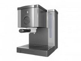 Home espresso machine 3d preview