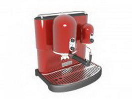 Italian espresso machine 3d preview