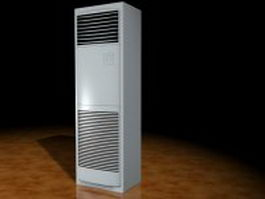 Floor air conditioner 3d preview