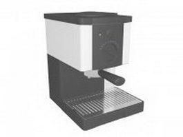 Espresso coffee maker 3d preview