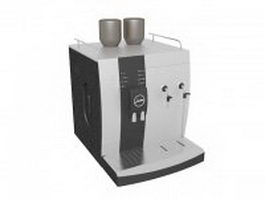 Jura coffee machine 3d preview