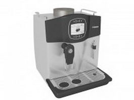 Saeco espresso machine 3d preview