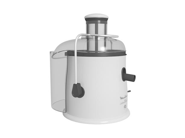 Moulinex juicer machine 3d rendering