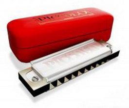 Diatonic harmonica 3d preview
