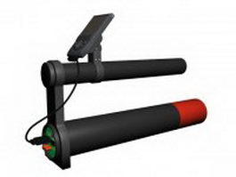 Hand held metal detector 3d preview