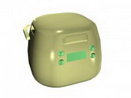 Home rice cooker 3d preview