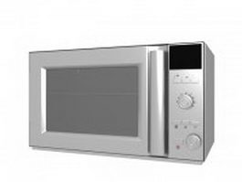 Household microwave oven 3d preview