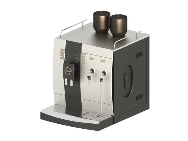 Capresso espresso coffee machine 3d rendering