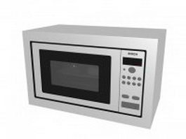 Bosch compact microwave oven 3d preview