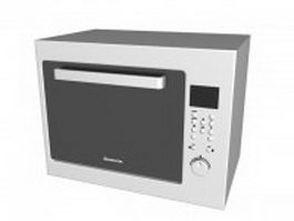 Ariston oven 3d model preview