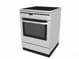Electric cooking range 3d preview