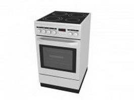 Compact electric range 3d preview