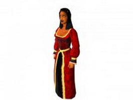Ancient Persian women 3d preview