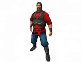 Alexander in Age of Pirates 3d preview