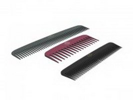 Comb set 3d preview